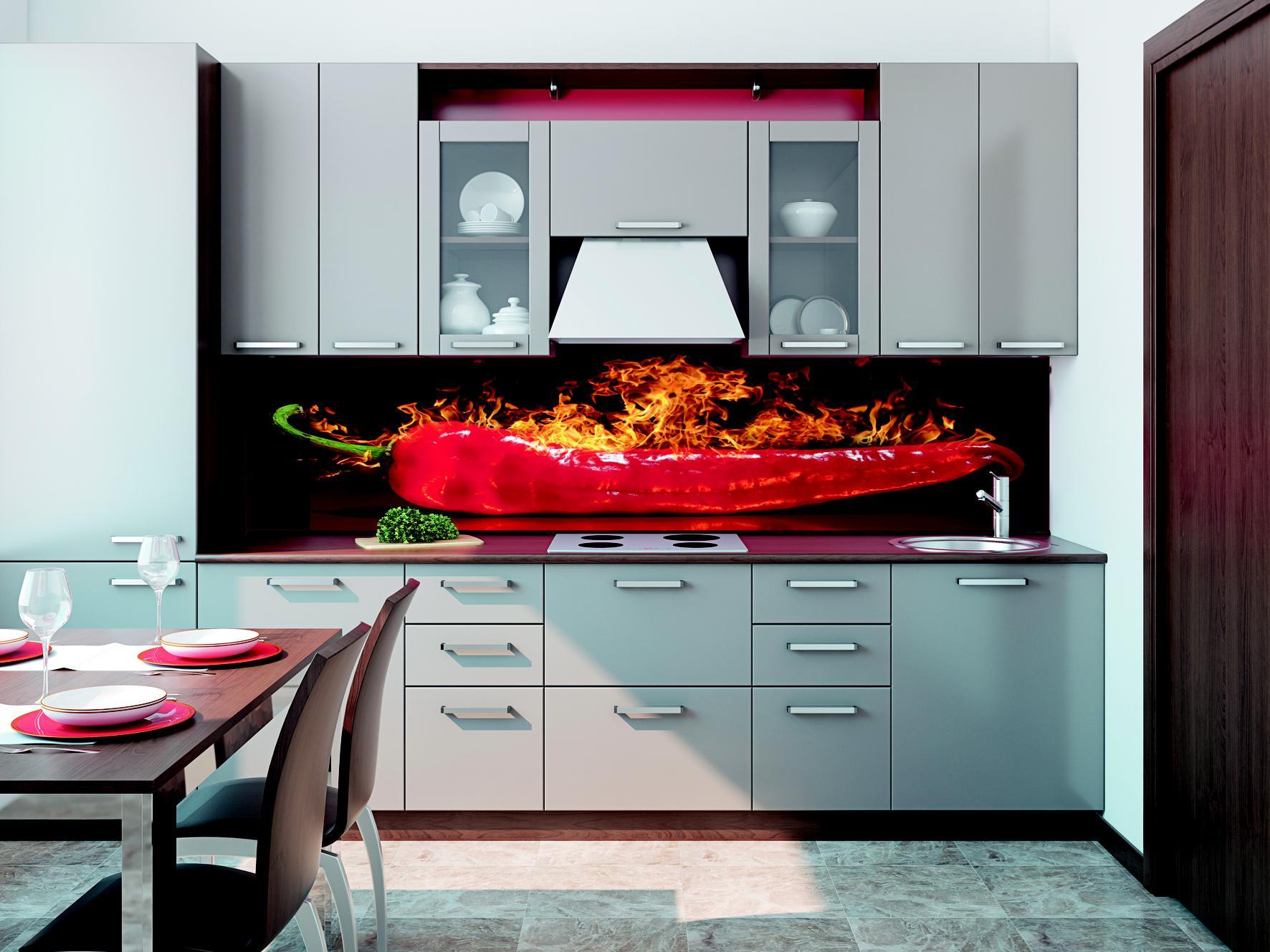 Anleitung Fachgerechte Befestigung Küchenrückwand Frag Mutti - Küche glasrückwand auf fliesen