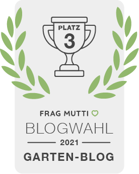 Siegel Garten-Blog der Frag Mutti Blogwahl 2021!