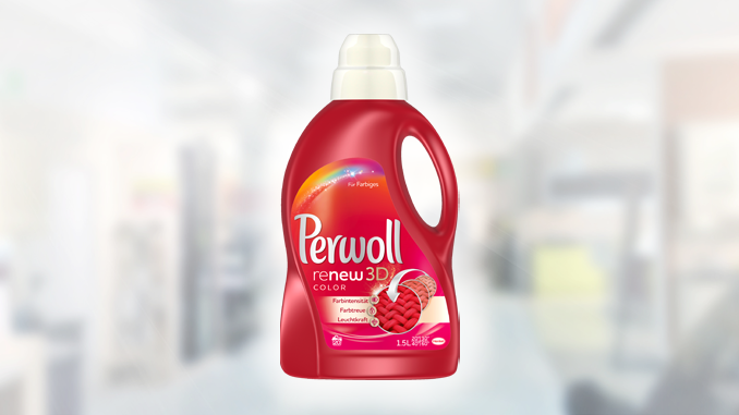 PERWOLL COLOR TEST