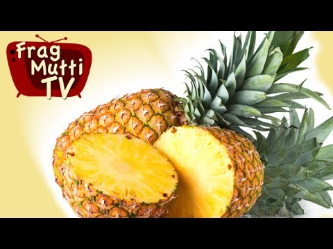 ananas schneiden mit frag mutti tv. Black Bedroom Furniture Sets. Home Design Ideas