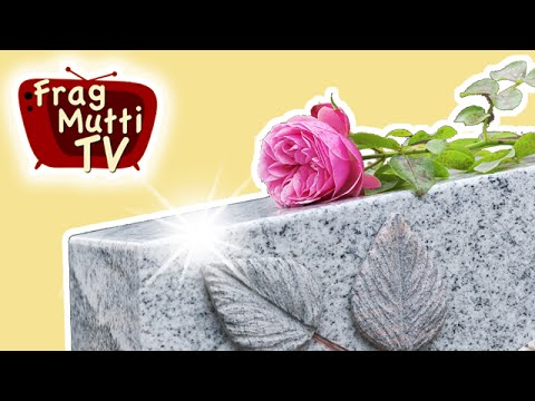 grabstein reinigen so geht 39 s frag mutti tv. Black Bedroom Furniture Sets. Home Design Ideas