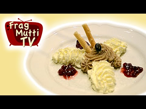 Maronencreme-Dessert | Frag Mutti TV