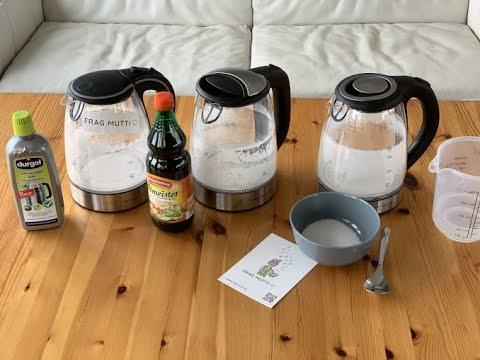 Wasserkocher entkalken: 3 Entkalker im Test | Frag Mutti